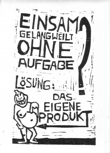Cartoon: Das eigene Produkt (medium) by KREMPEL tagged familie