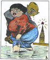 Cartoon: iulia and put (small) by Bejan tagged disident