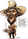 Cartoon: Clint Eastwood (small) by stieglitz tagged clint,eastwood,karikatur,caricature
