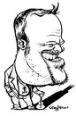 Cartoon: Stefan Raab (small) by stieglitz tagged stefan,raab,karikatur