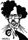 Cartoon: Tim Burton (small) by stieglitz tagged tim,burton,caricature,caricatura,karikatur,daniel,stieglitz