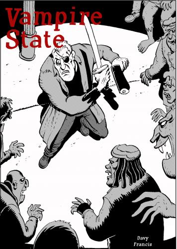 Cartoon: vampire state (medium) by davyfrancis tagged comics,