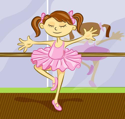 Смешные рисунки балерин, открытки