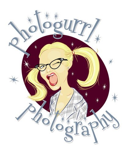 Cartoon: photogurrl photography (medium) by michaelscholl tagged wink,girl,pigtails