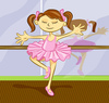 Cartoon: Ballerina (small) by michaelscholl tagged ballerina