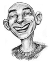 Cartoon: quel (small) by michaelscholl tagged quel,pencil,portrait