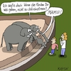 Cartoon: Elefanten (small) by KAYSN tagged elefant,zoo,kinder,einatmen