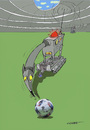 Cartoon: bombenschnüffler (small) by sobecartoons tagged fussball,em