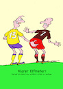 Cartoon: Elfmeter (small) by sobecartoons tagged hand,foul,elfmeter,fußball,strafraum