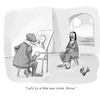 Cartoon: Mona Lisa (small) by Billcartoons tagged mona,lisa,davinci,paintings,painters,renaissance,art,classics