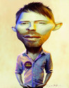 Cartoon: Thom Yorke radiocreep caricature (small) by fantasio tagged thom,yorke,fantasio,portrait,caricature,editorial