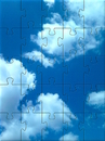 Cartoon: Wolkenpuzzle (small) by lesemaus tagged wolken,puzzle