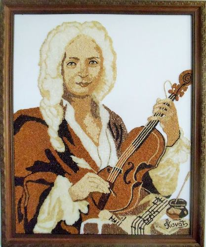 Cartoon: Antonio Vivaldi (medium) by stavok21 tagged crop,art