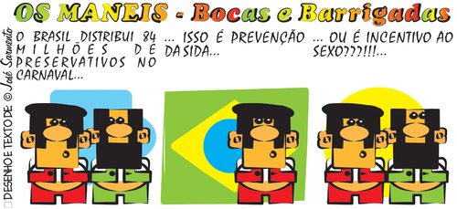 Cartoon: Carnaval no Brasil (medium) by jose sarmento tagged carnaval,no,brasil