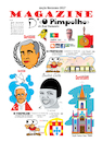 Cartoon: Magazine O Pimpolho (small) by jose sarmento tagged magazine,pimpolho