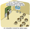 Cartoon: Notenvergabe (small) by Hannes Richert tagged schule vorurteile namen noten mandy kevin