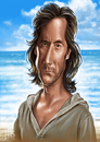 Cartoon: Desmond (small) by JMSartworks tagged caricature,actors,filmmakers,hollywood,paintool,sai,painter