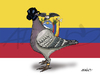 Cartoon: Ecuador (small) by adancartoons tagged ecuador,correa