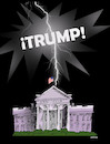 Cartoon: trump! (small) by adancartoons tagged power