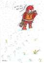 Cartoon: Happy New Year (small) by Atilla Atala tagged 2011,happy,new,year,christmas,noel,santaclaus