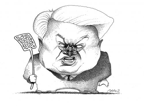 Cartoon: Jelzin (medium) by Pohlenz tagged russia,russian,russland,russe,boris,jelzin,kaukasus,konflikt,fliege,fliegenklatsche,klatschen,nase,politiker,karikatur,gesicht,schlagen,boris jelzin,georgien,armenien,aserbaidschan,tschetschenien