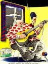 Cartoon: Festival (small) by Pohlenz tagged music,musik,singer,song,lied,sänger,man,woman,couple,home