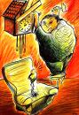 Cartoon: time (small) by oguzgurel tagged humor
