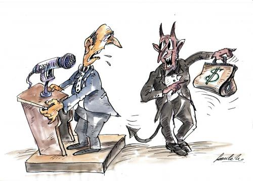 Cartoon: corruption (medium) by leonten tagged no,