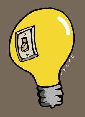 Cartoon: bulb (medium) by alexfalcocartoons tagged bulb