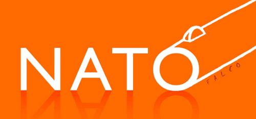 Cartoon: NATO (medium) by alexfalcocartoons tagged nato