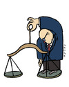 Cartoon: justice (small) by alexfalcocartoons tagged justice
