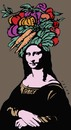 Cartoon: MonaLisa (small) by alexfalcocartoons tagged monalisa