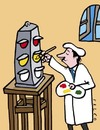 Cartoon: painting (small) by alexfalcocartoons tagged painting