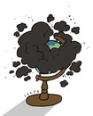 Cartoon: pollution (small) by alexfalcocartoons tagged pollution