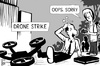 Cartoon: Drone strike (small) by sinann tagged drone,strike