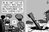 Cartoon: North Korea missile propaganda (small) by sinann tagged north,korea,south,rocket,missile,propaganda
