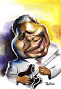 Cartoon: BB King (small) by zaliko tagged bb,king