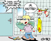Cartoon: Hygiene (small) by MiO tagged hände,mio,torben,hygiene,badezimmer