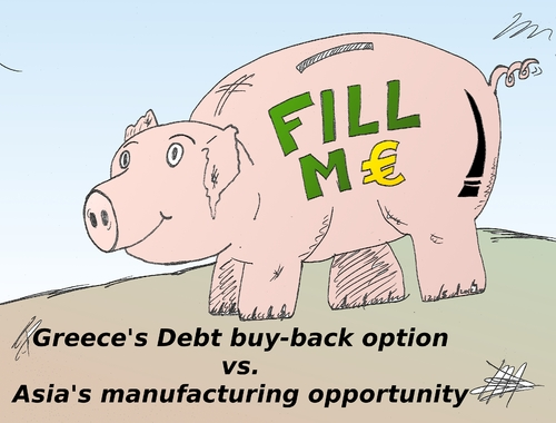 Cartoon: Fiscal piggybank cartoon (medium) by BinaryOptions tagged europe,eur,debt,greece,greek,piggybank,caricature,financial,editorial,business,comic,cartoon,optionsclick,binary,options,trader,option,trading,trade,news,lampoon