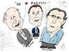 Cartoon: Big Three Auto Bosses cartoon (small) by BinaryOptions tagged akerman,marchionne,ford,gm,general,motors,chrysler,motor,auto,car,autos,automobile,automobiles,caricature,editorial,financial,business,comic,cartoon,optionsclick,binary,options,trader,option,trading,trade,finance,satire,parody,news,economic,chairman,ceo,h