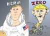 Cartoon: Deux ARMSTRONG en caricature (small) by BinaryOptions tagged neil,armstrong,lance,astronaute,cycliste,options,binaires,option,binaire,trader,trading,optionsclick,caricature,dessin,comique,comics,news,nouvelles,infos,financier,boursier,explorateur,nasa,apollo
