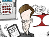 Cartoon: Edward Snowden cartoon (small) by BinaryOptions tagged snowden,china,usa,united,states,espionage,spy,spying,nsa,security,politics,political,editorial,news,optionsclick,options,binary,option,trade,trader,accused,scandal,international,caricature,comic,webcomic,cartoon