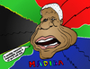 Cartoon: Mandela portrait comique (small) by BinaryOptions tagged option,binaire,options,binaires,optionsclick,nelson,mandela,madiba,caricature,portrait,comique,webcomic,afrique,sud,news,infos,nouvelles,actualites,politicien,politique