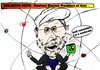 Cartoon: President Rowhani Caricature (small) by BinaryOptions tagged optionsclick,binary,option,options,trade,trader,trading,rowhani,iran,iranian,president,elect,news,editorial,caricature,cartoon,comic,webcomic,financial,fiscal,energy,atomic,nuclear,power,politics,political,politician