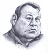 Cartoon: Steve Hansen (small) by Alleycatsgarden tagged rugby,new,zealand,all,blacks,dan,carter,mccaw