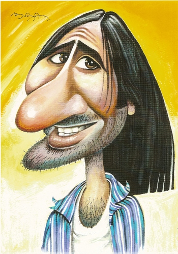 Cartoon: Gaffur (medium) by MUSTAFA BORA tagged caricature