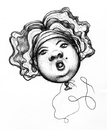 Cartoon: Balloon (small) by vokoban tagged pen,and,ink,doodle,drawing,scribble,pencil