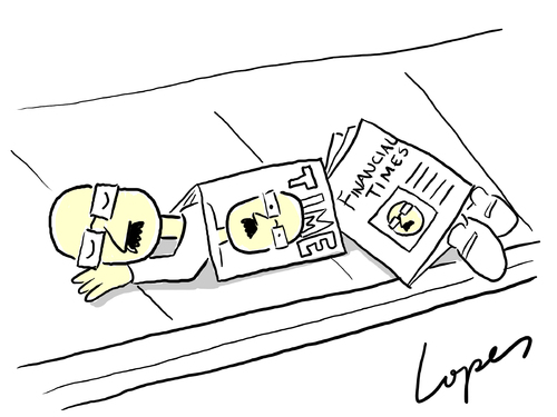 Cartoon: Crisis (medium) by Lopes tagged magazine,newspaper,homeless,rich,poor,economy,crash