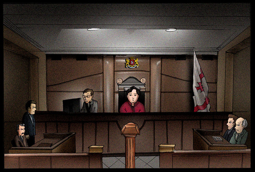 Cartoon: supreme court (medium) by gamez tagged gmz,gamez,sood,mood,blood,good,wood,root,eastwood,ylistwood,listgood