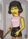 Cartoon: Freddie (small) by gamez tagged gamez,simpson,queen,freddie,mercury,singer,woman,artist,pop,rock,classic,super